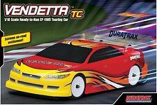 Duratrax Vendetta TC Remote Control Touring Car 1/18 4WD VR3 Motor 2 Channel