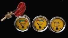 Oliver Tractor Super 44,55,66,77,88,440,660 Temp +Oil Pressure+Ampere Gauges Kit