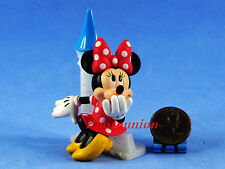 Cake Topper DISNEY Mickey Minnie Mouse Collectible FIGURE Decor Castle A330
