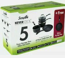 Scoville Neverstick 5 Piece Cookware Set Non Stick Brand New