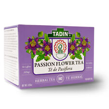 TADIN PASSION FLOWER HERBAL TEA 24 BAGS / TE DE PASIFLORA 24 BOLSAS