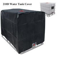 1x Couvercle de protection pour réservoir d'eau de pluie Housse Bâche Protection