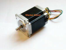 Wantai 1pc Nema 23 motor single shaft 57BYGH633 270oz-in 78mm 3A
