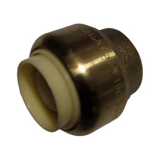 "1 PC. 1/2"" Push-Fit Cap for Sharkbite, Copper, CPVC, Pex 5/8"" OD Pipe, Lead Free"
