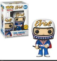 """Pop Icons """"Evil Knieval W/Helmet """" 62 Chase Variant In Soft Protector New Funko"""