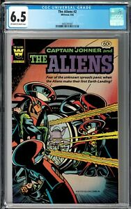 The Aliens #2 CGC 6.5 (May 1982, Whitman) Captain Johner, Whitman ref. 90216-205