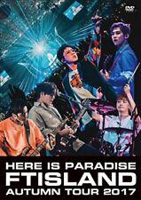 FTISLAND AUTUMN TOUR 2017 here is Paradise DVD Japan WPBL-90454 4943674276608