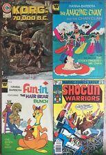 Saturday Morning HB Licensed 4 Comics  Shogun, Amazing Chan, Hair Bear, Korg