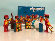 Playmobil maestro orquesta parque banda música instrumentos 3511 Caja original