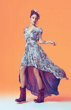 DENNY ROSE ABITO vestito maxidress con coda art.45dr12009 tg.44 rarissimo