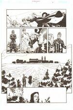 Establishment #9 p.7 - Scarlet 'Walking Dead' Artist - by Charlie Adlard Comic Art