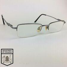 INTERNATIONAL EYEWEAR eyeglasses SILVER HALF-RIM glasses frame MOD: PUCCINI 120