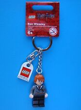New with Tags Lego Ron Weasley Minifigure Keychain 852955 Key Ring 2010