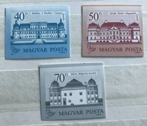 Hungary great imperforated series, MNH very rare