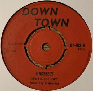 Denzil And Pat Sincerely Dream Original Down Town 1968 !!