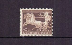GERMANY 1940 BROWN RIBBON 42pf+108pf MNH CAT £150