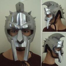 Roman Gladiator Maximus Helmet. Perfect for Re-enactment, Stage and Costume #