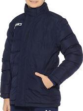 Asics New Alpi Long Junior Jacket Boys Girls Winter Coat Navy