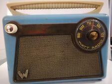 Radio A Transistor Watt Monello 1956