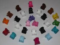 @ BLACK CLEAR @ MINI HAIR CLAW CLAMPS~HAIR CLIPS~HAIR GRIPS~BULLDOG CLIPS X 12 .