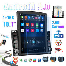 2 Din 101 Vertical Android 90 Car Radio Gps Navi Map Wifi Quad Core Stereo
