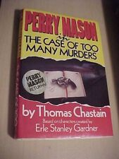 Perry Mason in the Case of Too Many Murders by Thomas Chastain (1989, Hardcover)