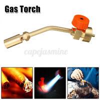 Mapp Gas Turbo Torch Self Ignition Brazing Solder Propane Welding Plumbing Tool