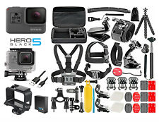 GoPro HERO 5 Black Edition Camera + 50PCS Accessory + Frame + Waterproof Case