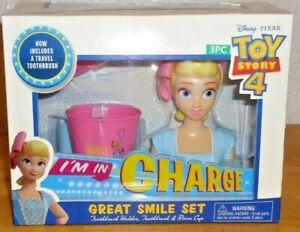 Disney Pixar Toy Story 4 BO PEEP Great Smile Set Girl's 3 piece Oral Care Set