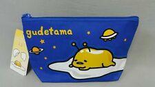 Sanrio Gudetama Polyester Cosmetic Makeup Beauty Bag Pencil Case GU1507A40230