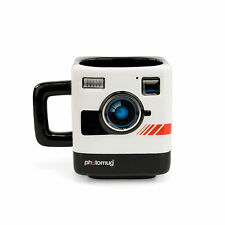 PHOTOMUG COFFEE MUG Photo Retro Camera Shaped Cup Photographer Ceramic Polaroid