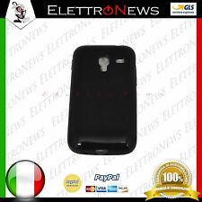 Custodia Cover TPU per Samsung Galaxy Ace Plus S7500 nera