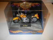 MATTEL HARLEY DAVIDSON FAT BOY MOTORCYCLE F661161 89461 NEW IN BOX