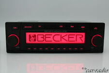 Original Becker Mexico Pro BE7937 MP3 Original CD Autoradio Ipod 1-DIN 12V Radio
