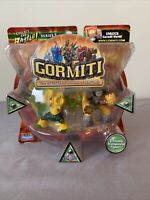 Gormiti Series 2 ( Eartheater/Ancient Sentry) Figures **NEW SEALED**