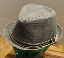 NICE GRAY PAMOA HAT SIZE S/M IN VERY GOOD CONDITION