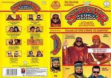 WWE Survivor Series 1988 88 ORIG VHS WWF Wrestling SV