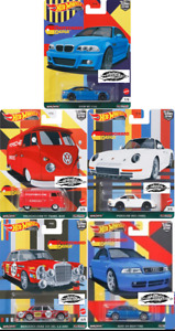 HOT WHEELS PREMIUM 2021 CAR CULTURE DEUTSCHLAND DESIGN - 5 CAR SET *PRESALE*