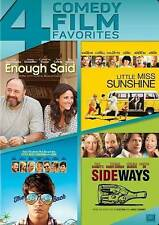 4 Comedy Films DVD: Enough Said - Little Miss Sunshine - Way Way Back - Sideways
