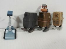 Gonk Droid and Treadwell Droid Star Wars Figure Lot Hard to Find Good Condition!