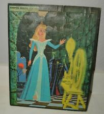 Aged Vintage 1958 Sleeping Beauty Whitman Large Puzzle FAIR Condition RARE