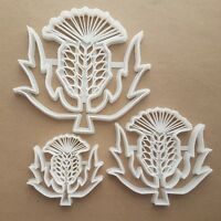 Thistle Flower Plant Shape Cookie Cutter Dough Biscuit Pastry Fondant Sharp