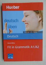 Deutsch Uben - Taschentrainer: Fit in Grammatik A1/A2 by Max Hueber Verlag...