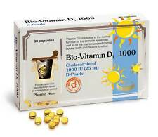 Pharma Nord Bio Vitamin D3 1000IU 80caps