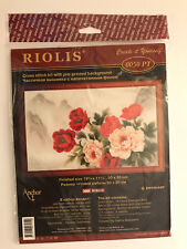 Riolis ORIENTAL BOUQUET Cross Stitch Kit Floral Rose Design - NIP