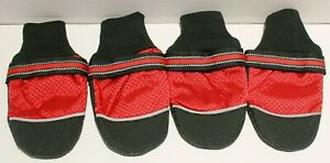 Alfie Pet Dog Reflective Anti Slip Paw Protection Boots Shoes for LARGE BREEDS