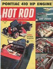1959 May Hot Rod Magazine Back Issue - Fuel Injected Corvette / Ford
