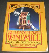 Build Your Own Windmill Post Mill Gillon Perigee Working Model Gears Sails Move