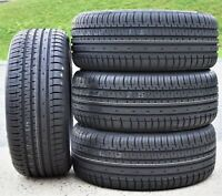 4 New Accelera Phi-R 225/40R20 101W XL AS A/S High Performance Tires