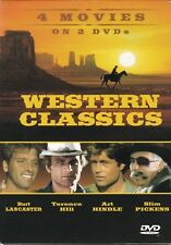 Western Classics (4 Movies on 2 DVD's) Burt Lancaster, Terence Hill, Art Hindle